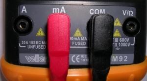 Hoe gelijkstroom multimeter