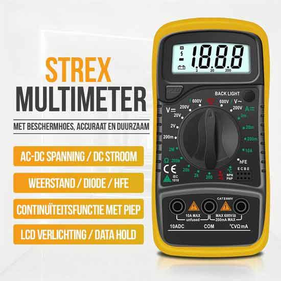 Strex-SP0045-Multimeter